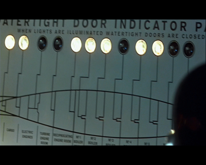 Did the actual ship have this ... & Watertight door indicator panel? : titanic